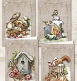 Creatief Art Christmas Animals 01