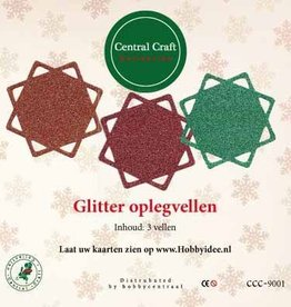 Central Craft Collection Glitter Oplegvellen