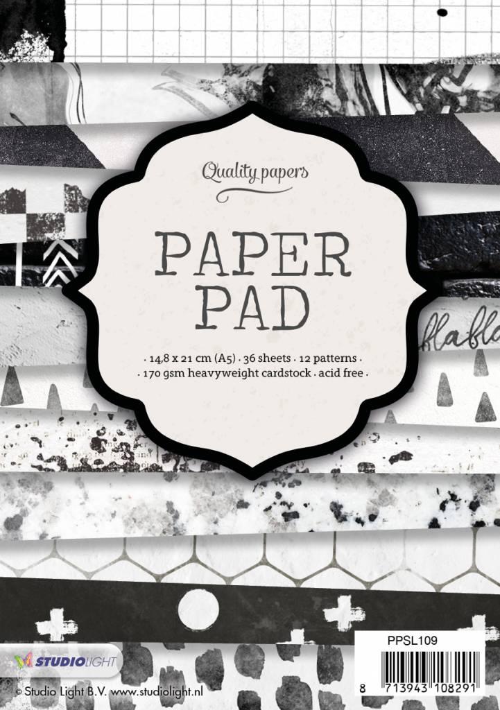Studiolight Paper Pad A5, 36 vel, 12 patronen nr.109