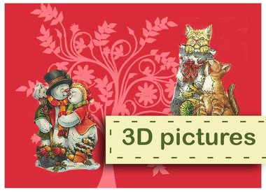 3D Pictures & Toppers