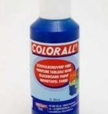 Collall Colorall Schoolbordverf 100 ml Donker Blauw