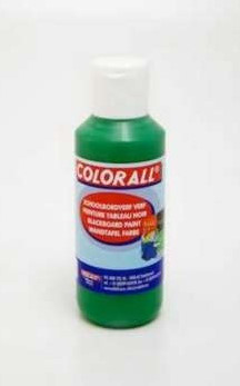Collall Colorall Schoolbordverf 100 ml Donker Groen