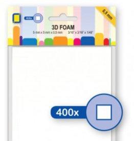 Je Je Produkt Blocs de mousse 3D 5 mm x 5 mm x 0,5 mm
