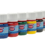 Collall Colorall Porseleinverf 25 ml Rood