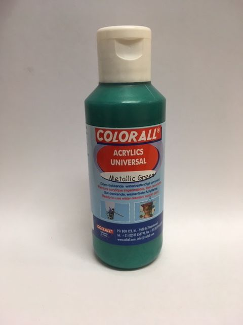 Collall Colorall Acrylic Universal 100 ml Metallic Groen