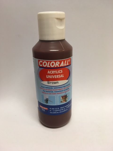 Collall Colorall Acrylic Universal 100 ml Bruin