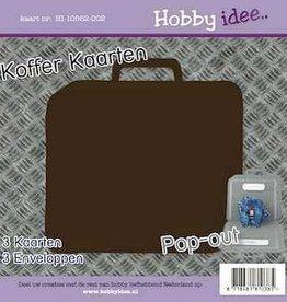 Hobby Idee Kofferkaart Bruin