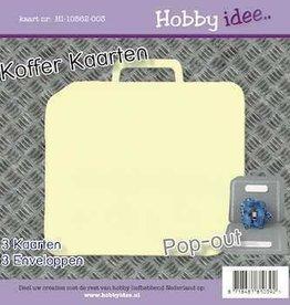 Hobby Idee Kofferkaart Creme