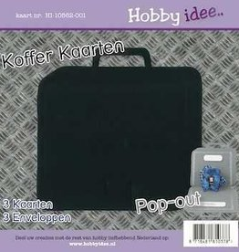 Hobby Idee Kofferkaart Zwart