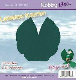 Hobby Idee Lelieblad kaart Donker groen