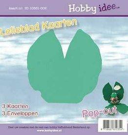 Hobby Idee Lelieblad kaart Licht groen