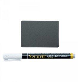 Securit Pricetags A8 (20 pcs) incl. 1x SMA Marker