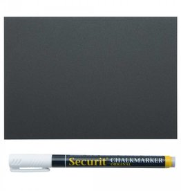 Securit Pricetags A6 (20 stks) incl. 1x SMA Marker