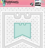 Studiolight Embossing That 104 x 97 mm, Create Happiness nr.153