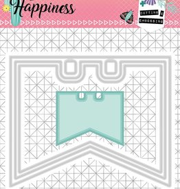 Studiolight Embossing Die 104 x 85 mm, Create Happiness nr.154