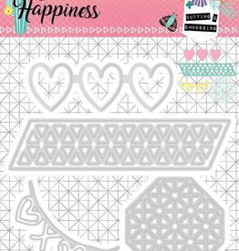 Studiolight Embossing Die 104 x 107 mm, Create Happiness nr.158