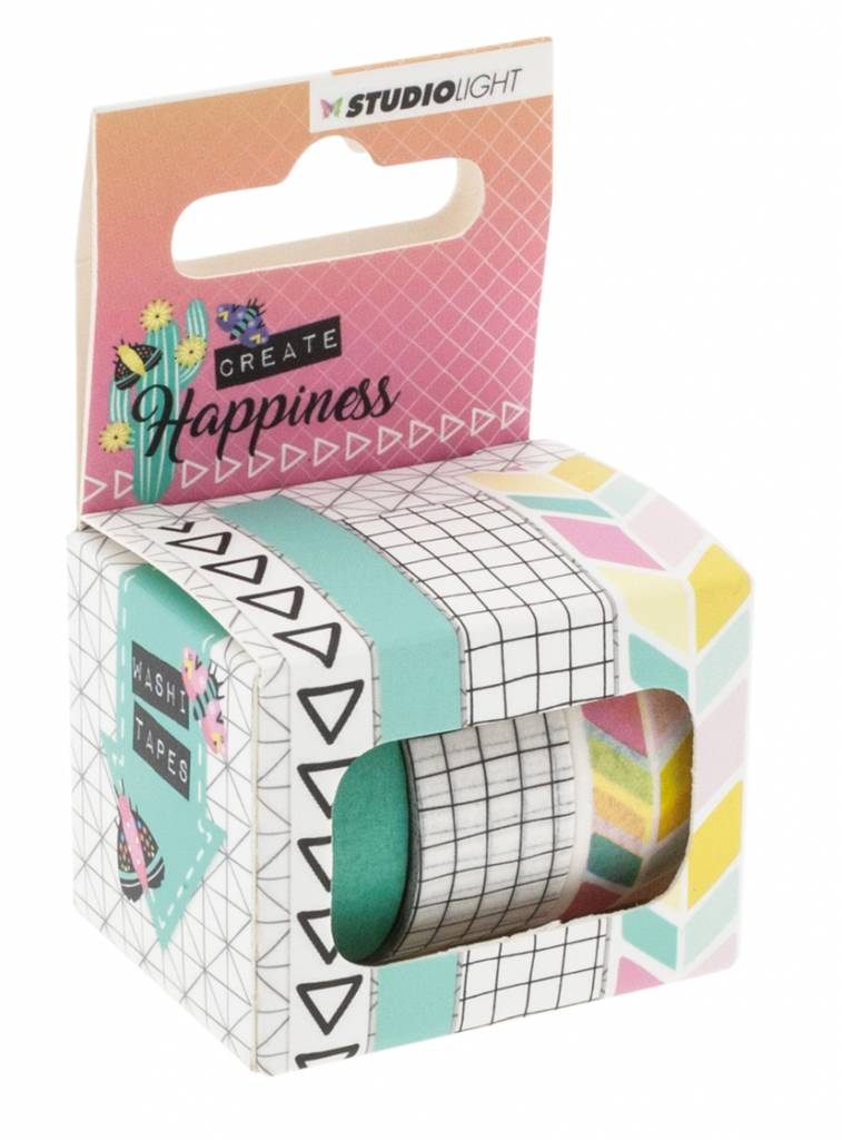 Studiolight Washi Tape, Create Happiness nr.01