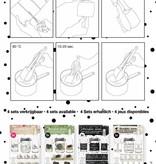 Studiolight Sleeves 380 x 110 mm, Chalk