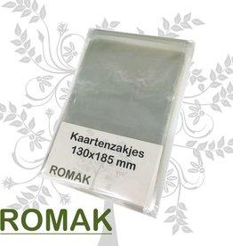 Romak Kaartenzakjes Romak C6 130x185+35
