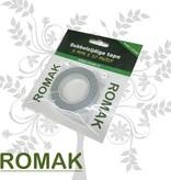 Romak Double-sided tape 9 mm x 10 meters Romak