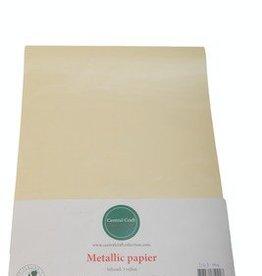 Central Craft Collection Metallic papier Creme