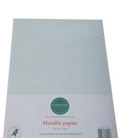 Central Craft Collection Metallic papier Lichtgroen Grijs