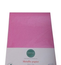Central Craft Collection Metallic papier Donker Roze