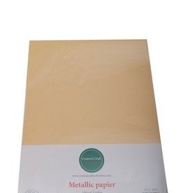 Central Craft Collection Metallic papier Geel oranje