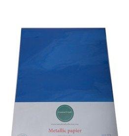Central Craft Collection Metallic papier Diep blauw