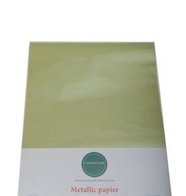 Central Craft Collection Metallic papier Lime groen
