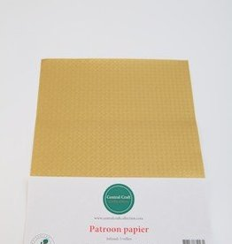 Central Craft Collection Blokjes papier Goud