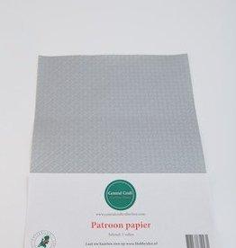Central Craft Collection Blokjes papier Zilver