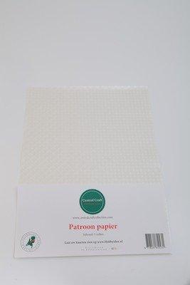 Central Craft Collection Blokjes papier wit