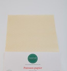 Central Craft Collection Blokjes papier creme