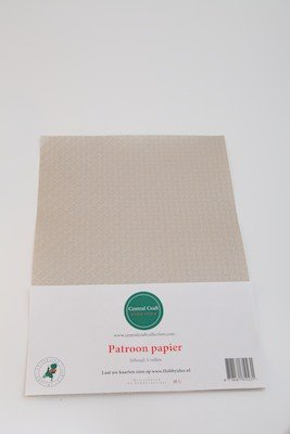 Central Craft Collection Blokjes papier licht grijs