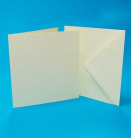 Craft UK Limited 7×7 IVORY CARDS & ENVELOOPES