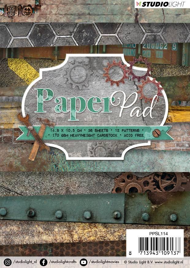 Studiolight Paper Pad A6, 36 vel, 12 patronen nr.114