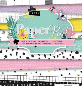 Studiolight Paper Pad A6, 36 vel, 12 patronen nr.115