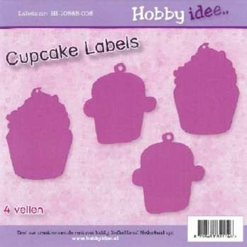 Hobby Idee Cupcake Labels
