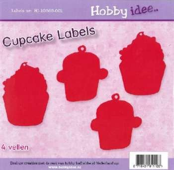 Hobby Idee Cupcake Labels