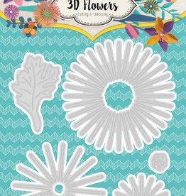 Studiolight Embossing Die Cut 3D Layered Flower Dies nr. 178
