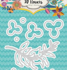 Studiolight Embossing Die Cut 3D Layered Flower Dies nr. 179