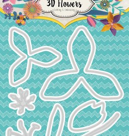 Studiolight Embossing Die Cut 3D Layered Flower Dies nr. 180