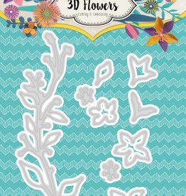 Studiolight Embossing Die Cut 3D Layered Flower Dies nr. 181