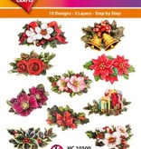 Hearty Crafts Easy 3D-Toppers Christmas Floristy (1)