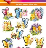 Hearty Crafts Easy 3D-Toppers Comic Butterfly
