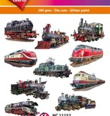 Hearty Crafts Easy 3D-Toppers Locomotives