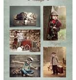 Nellie's Choice NEVI055 Nellie's Vintage sheets A4