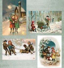 Nellie's Choice NEVI046 knipvel A4 Nellie's Vintage