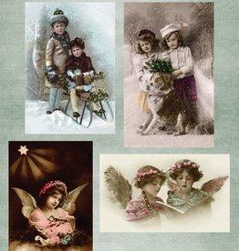 Nellie's Choice A4 knipvel Nellie's Vintage NEVI048